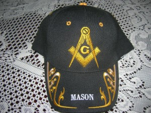 Freemason ball cap