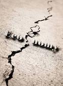 Cracked economy